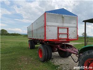 Remorcă basculabilă pentru agricole - imagine 1