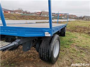 Remorcă platformă baloti, Remorci cereale 12 tone - 26 tone, Plug - imagine 2