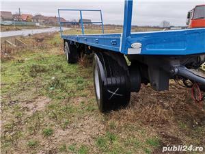 Remorcă platformă baloti, Remorci cereale 12 tone - 26 tone, Plug - imagine 1