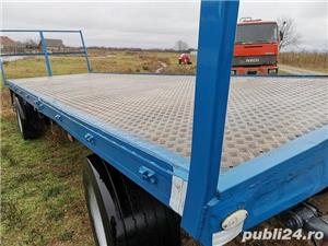Remorcă platformă baloti, Remorci cereale 12 tone - 26 tone, Plug - imagine 3