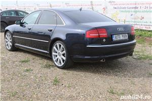 Audi A8 3.0TDI QUATTRO 4x4 Incalzire scaune fata & spate Webasto Trapa Suspensie Rate Credit Leasing - imagine 9