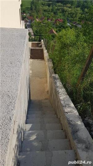 Casa S+P+E,6 camere,240 mp,zona Dealuri,teren 640 mp,semifinisata, - imagine 8