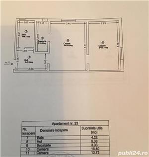 2 camere mansarda mall, complex sau lipovei  - imagine 2