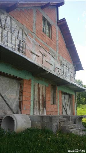 Vand casa la rosu, comuna Merisani, sat Dobrogostea - imagine 1