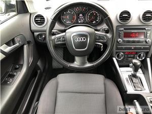 Audi A3 2.0 140 CP An 2010 EURO 5 *Automat*DSGKM REALI - imagine 7