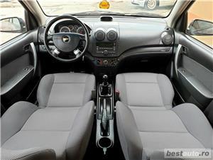 Chevrolet aveo,GARANTIE 3 LUNI,AVANS 0,RATE FIXE,motor 1200 cmc,90 Cp,Clima - imagine 7
