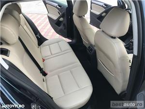 Volkswagen Golf VI / 1.6 TDi 105 CP / Navigatie RNS 510 / Tapiterie Piele Bej / Senzori de Parcare . - imagine 6