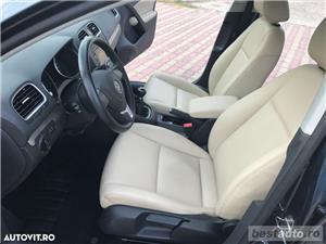 Volkswagen Golf VI / 1.6 TDi 105 CP / Navigatie RNS 510 / Tapiterie Piele Bej / Senzori de Parcare . - imagine 3