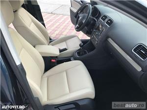 Volkswagen Golf VI / 1.6 TDi 105 CP / Navigatie RNS 510 / Tapiterie Piele Bej / Senzori de Parcare . - imagine 4