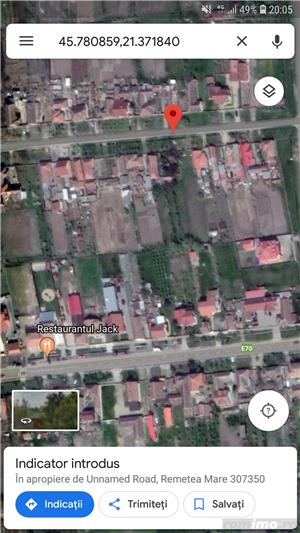 teren intravilan in centrul localitatii Remetea Mare - imagine 2