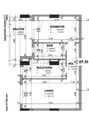Proprietar - apartament 1 camera 37 mp+balcon in bloc nou str. Lidia - imagine 5