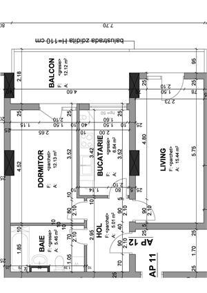 Proprietar - apartament 1 camera 37 mp+balcon in bloc nou str. Lidia - imagine 6