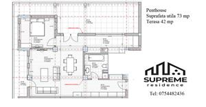 Penthouse 2 camere 73 mp utili, Doamna Stanca, Sibiu - imagine 10