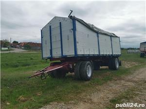 Remorcă platformă baloti, Remorci cereale 12 tone - 26 tone, Plug - imagine 4