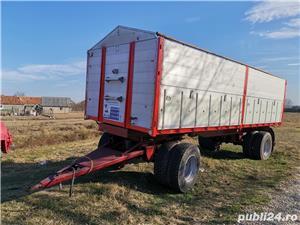 Remorcă platformă baloti, Remorci cereale 12 tone - 26 tone, Plug - imagine 9