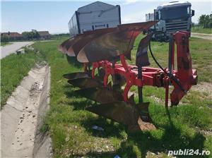Remorcă platformă baloti, Remorci cereale 12 tone - 26 tone, Plug - imagine 10