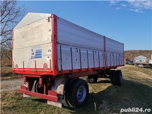 Remorcă platformă baloti, Remorci cereale 12 tone - 26 tone, Plug - imagine 7