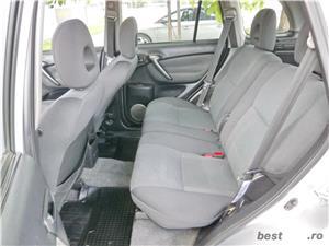 Toyota RAV 4 - 4x4 - 2.0 dieselvanzare in RATE FIXE cu avans 0%.  - imagine 12