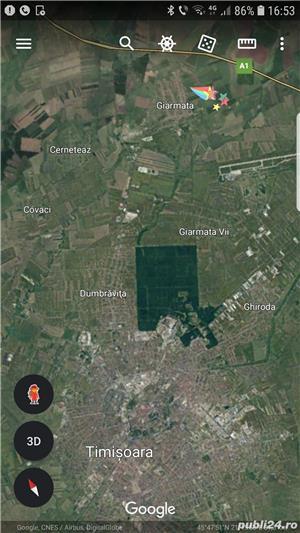 592 mp, teren Giarmata 12000 euro - imagine 3