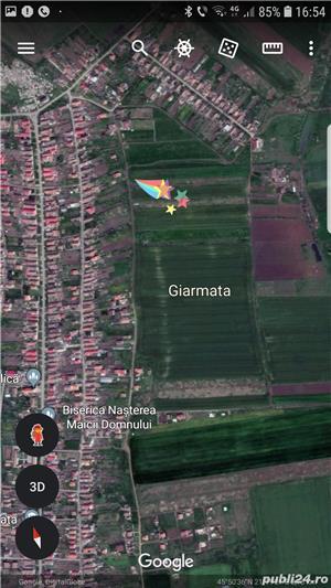 592 mp, teren Giarmata 12000 euro - imagine 2