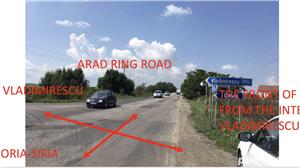 Vand teren intravilan la intrare in Horia jud Arad suprafata 59 Ha  - imagine 3
