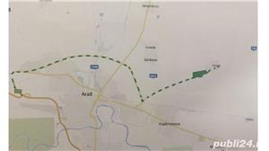 Vand teren intravilan la intrare in Horia jud Arad suprafata 59 Ha  - imagine 1