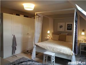 Vanzare 2 cam. tip duplex Brancoveanu-Lamotesti mobilat lux-mansarda - imagine 1