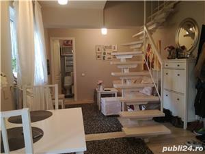 2 camere duplex Brancoveanu-Lamotesti mobilat lux-mansarda - imagine 2