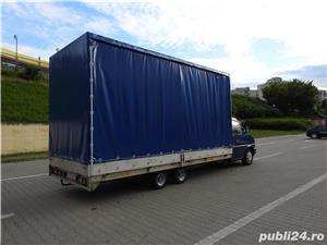 Volkswagen Transporter 3500 kg, platforma si suprastructura integrala din ALUMINIU, 2,5TDI, Euro 3 - imagine 2