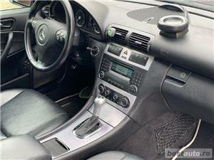 Mercedes-Benz C180 Kompressor SPORT EDITION 1.8B 143cp Xenon Piele Încălzire Scaune Senzori Pdc FULL - imagine 9