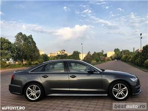 Audi A6 S-Line / 2.0 TDi 190 CP / Faruri Full Led / DayLight Neon / Navigatie Mare 3D.  - imagine 11