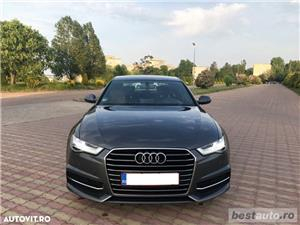 Audi A6 S-Line / 2.0 TDi 190 CP / Faruri Full Led / DayLight Neon / Navigatie Mare 3D.  - imagine 1