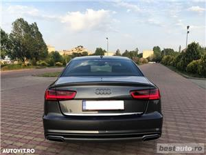 Audi A6 S-Line / 2.0 TDi 190 CP / Faruri Full Led / DayLight Neon / Navigatie Mare 3D.  - imagine 7