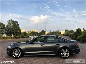 Audi A6 S-Line / 2.0 TDi 190 CP / Faruri Full Led / DayLight Neon / Navigatie Mare 3D.  - imagine 9