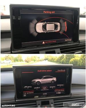 Audi A6 S-Line / 2.0 TDi 190 CP / Faruri Full Led / DayLight Neon / Navigatie Mare 3D.  - imagine 10
