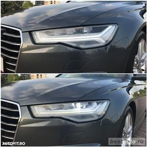 Audi A6 S-Line / 2.0 TDi 190 CP / Faruri Full Led / DayLight Neon / Navigatie Mare 3D.  - imagine 13