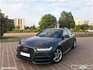 Audi A6 S-Line / 2.0 TDi 190 CP / Faruri Full Led / DayLight Neon / Navigatie Mare 3D.  - imagine 15