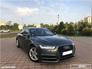 Audi A6 S-Line / 2.0 TDi 190 CP / Faruri Full Led / DayLight Neon / Navigatie Mare 3D.  - imagine 19