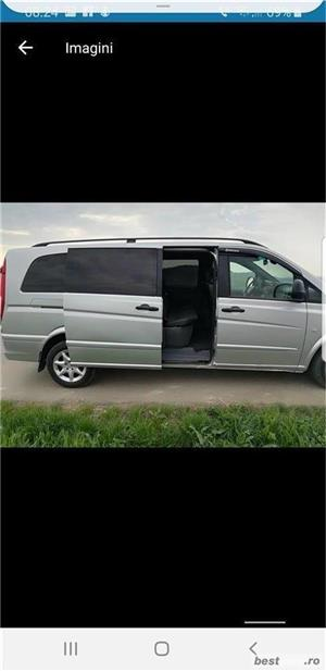 Mercedes-benz Vito+remorcă de 350kg - imagine 2