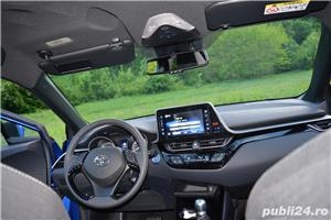 Toyota C-HR Hybrid 122 CP Navi+Cam+LED - imagine 39