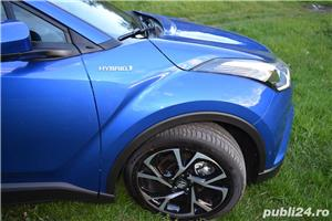 Toyota C-HR Hybrid 122 CP Navi+Cam+LED - imagine 29