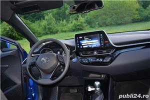 Toyota C-HR Hybrid 122 CP Navi+Cam+LED - imagine 38
