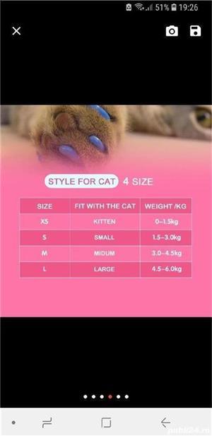 Unghiuțe Căpăcele Unghii Pisici - imagine 4