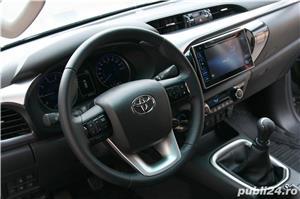 Toyota Hilux 2019, hard-top, extra optiuni originale, firma, TVA, garantie - imagine 5