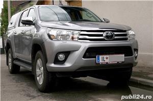 Toyota Hilux 2019, hard-top, extra optiuni originale, firma, TVA, garantie - imagine 1