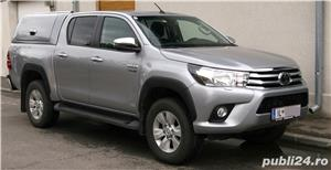 Toyota Hilux 2019, hard-top, extra optiuni originale, firma, TVA, garantie - imagine 2