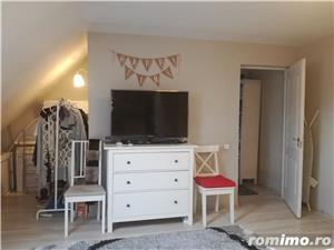 2 camere duplex Brancoveanu-Lamotesti mobilat lux-mansarda - imagine 8