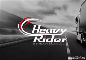HEAVY RIDER Srl - angajeaza conducator auto profesionist TIR - imagine 1