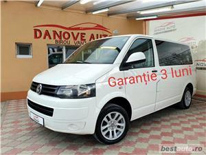 Vw T5(Model T6),GARANTIE 3 LUNI,AVANS 0,RATE FIXE,motor 2000 TDI,140 Cp,Webasto,Transport marfa. - imagine 2