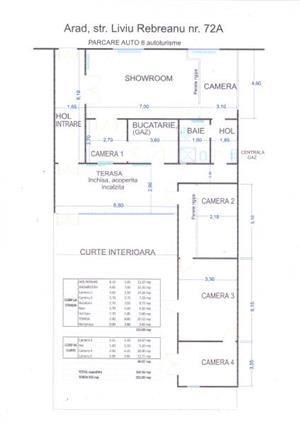 Casa / Spatiu comercial de inchiriat - in Parneava str. Liviu Rebreanu, nr. 72A - imagine 15